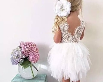 Lace Tutu Dress (short)