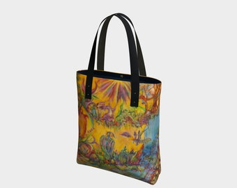 Portals of the Cosmic Realms Tote bag