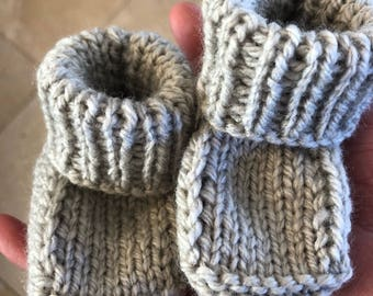 Itsy bitsy baby booties