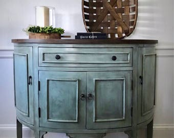 Good SOLD Entry Table, Farmhouse Cabinet, Entry Cabinet, Painted Console,  Console Table,