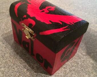 Pokemon GO trinket box - Team Valor