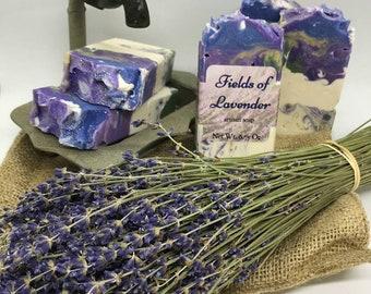 Fields of Lavender Artisan Soap