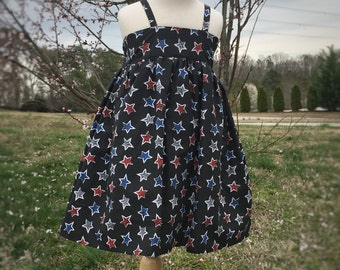 Size 3T 4th of July Dress for Toddler - Patriotic Girls Dress - July 4th Dress for Girls - Red White and Blue Dress - Memorial Day Dress