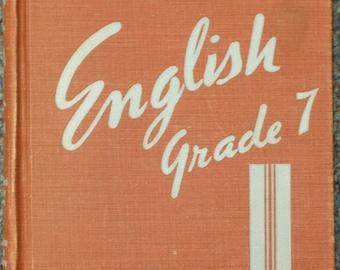 English Grade 7 Second Edition Copyright 1952