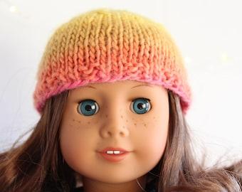Doll Hat for 18 inch Dolls (AG) Rainbow