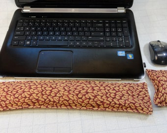 Hand Made Computer Wrist Rest Set for Keyboard and Mouse