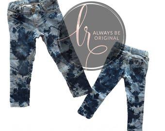 ACID WASH Jeans Trendy Pants Boys Girls Style