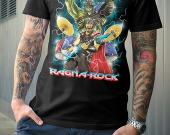 Ragna-Rock Shirt | Parody | PREMIUM QUALITY | Comic Tee | Geek Clothing | T-Shirt | Geek Tee