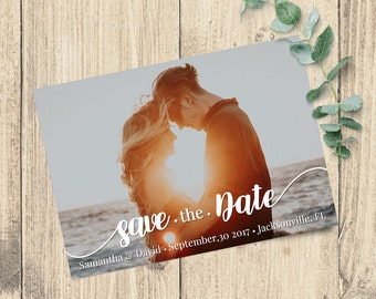 Printable Save the Date | Digital File