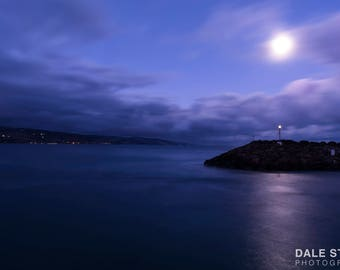 Night Landscape Print