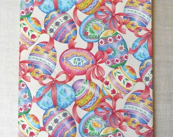 Easter gift wrap etsy easter gift wrap intricate easter egg designs 1 large full sheet american greetings negle Image collections