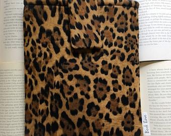 Leopard Book Love Sleeve