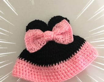 Lovely Minnie Mouse hat
