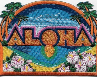 Aloha Sunsent Patch