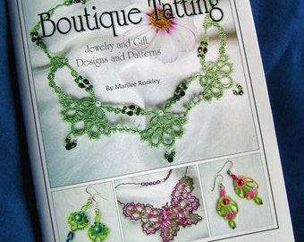 "Shuttle Tatting book ""Boutique Tatting"""