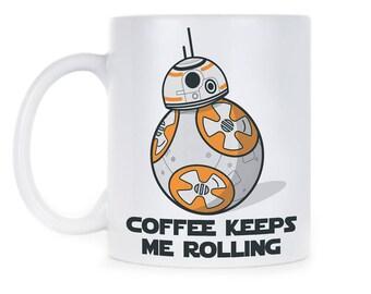 BB 8 Coffee Mug BB8 Mug BB 8 Gift BB8 Gift BB 8 R2D2