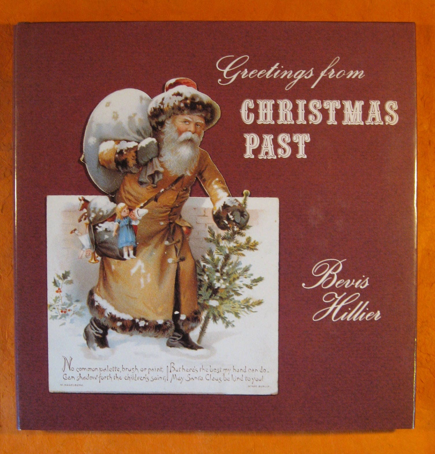 Greetings From Christmas Past By Hillier Bevis Book On