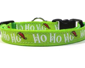 Hohoho Christmas Breakaway Cat Collar