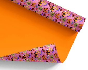 Wrapping Paper – Butterfly and Moth: NZ Flora and Fauna