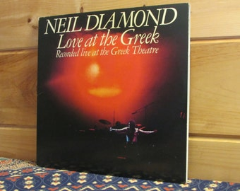 Neil Diamond - Love At The Greek - Recorded Live At The Greek Theatre - 33 1/3 Vinyl Record