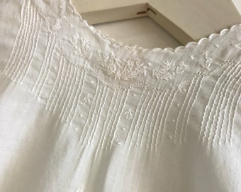 Vintage Heirloom Newborn Gown