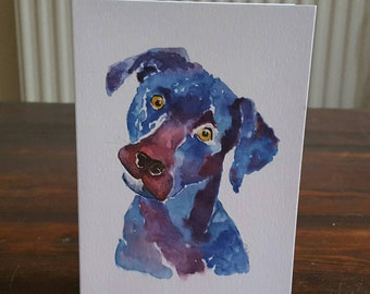 Birthday cards-greeting cards-birthday cards with dogs-birthday cards for men-cards for boys blank cards animal cards-gun dog cards notelets