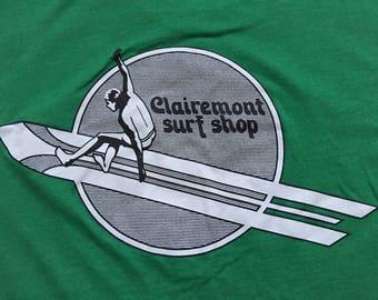 Clairemont surf shop shirt-surfer