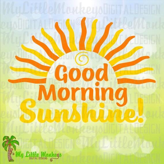 Shortstraw Good Morning Sunshine Zip : Good morning sunshine svg kids coffee mug svgl