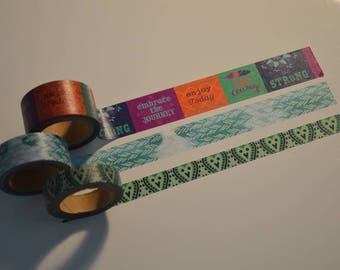 Washi Tape Sample Boho, 3x1m
