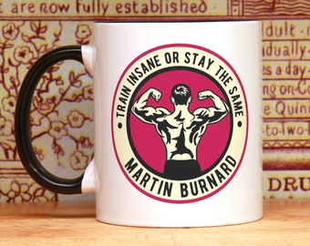 Crossfit gymnastics boxing wrestling gift workout bodybuilding judo karate kettlebell fitness personalized mug taekwondo martial arts