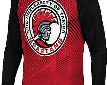 Spectrum Sublimation Men's University of Tampa Bold Long Sleeve
