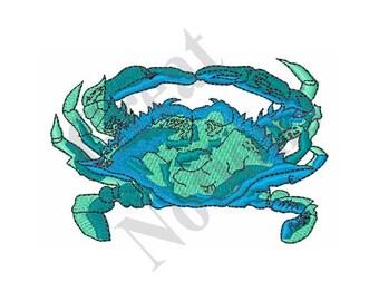 Blue Crab - Machine Embroidery Design