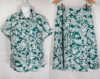 Vintage 70's SEARS 2 Piece Set L/XL