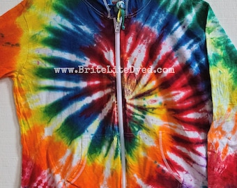 Women's Jacket 2XL - Yoga - Women's Clothes - Women's Jacket - Women's Sweater - Cotton Jacket - Festival - Tye Dye - Tie Dye - Spring