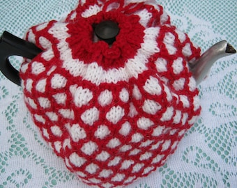 Tea Cozy - Hand Knit