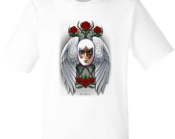 T-shirt per Donna e Uomo MASCHERA GRIGIO