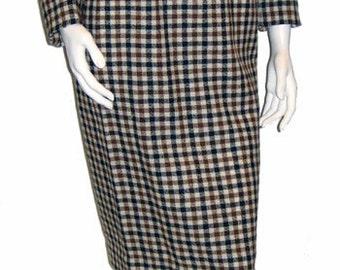 Vintage 1960s Jantzen Juniors Gingham Plaid Suit Size 4