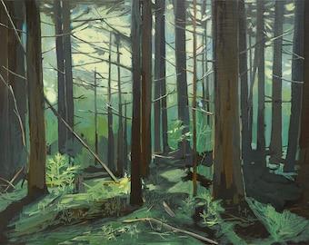 Big Woods - limited edition print