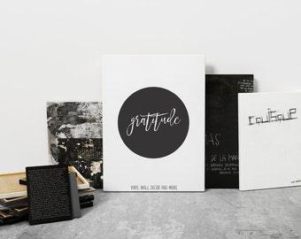 Gratitude Print- Download
