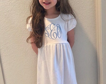 Monogrammed Girls Dress- New Spring Colors!!!