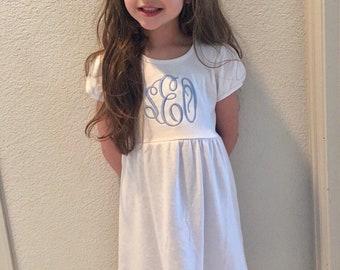 Monogrammed Girls Dress- New Spring Colors!!!