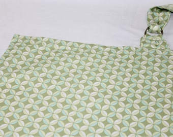 Green Diamonds Nursing Cover