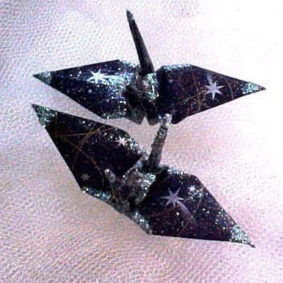 constellation peace crane bird wedding party favor cake topper