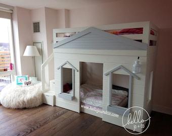 Little House Loft Bed Cottage Loft Bed