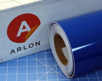 """Blue Arlon 5000 12"""" x 5' (5 feet) Roll * Sign Vinyl * Decal Vinyl"""