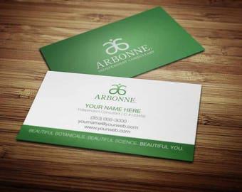 Arbonne Business Card Design 3