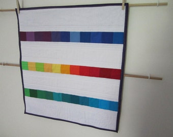 Rainbow Mini (Doll) Quilt