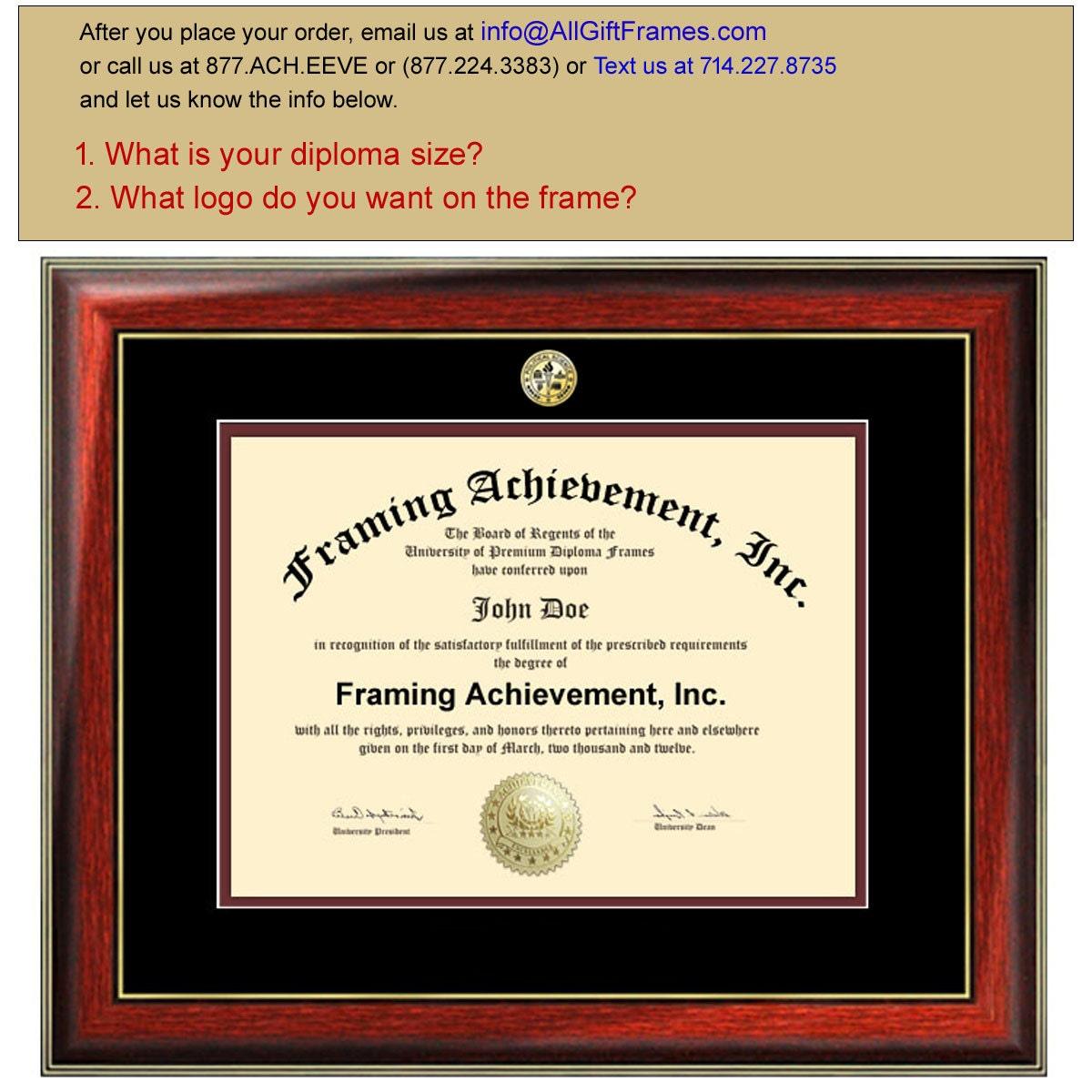 Marco de Diploma de certificado Marcos Universidad - graduación ...