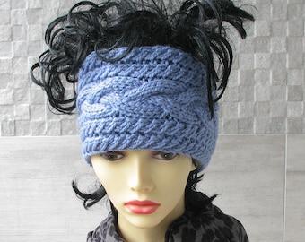 Dreadlock accessories Plain dreadlock tube hat dreadlocks cover up Womens Hat Mens knit headband Wide knit headband earwarmer