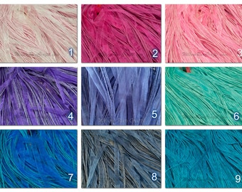 "20 Organza Ribbon Cord Necklaces  18"" Length, You Pick Your Colors."